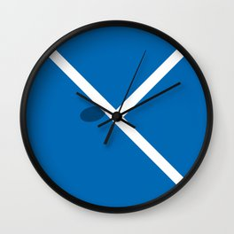 """IN"" – Hawk-Eye - Square Wall Clock"