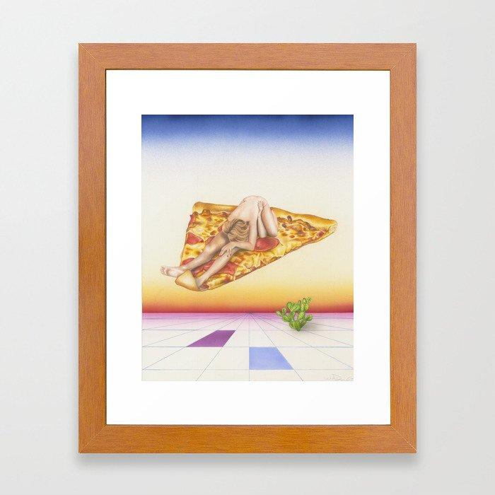 Pizza 69 Framed Art Print