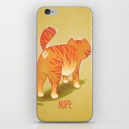 Nope. iPhone Skin