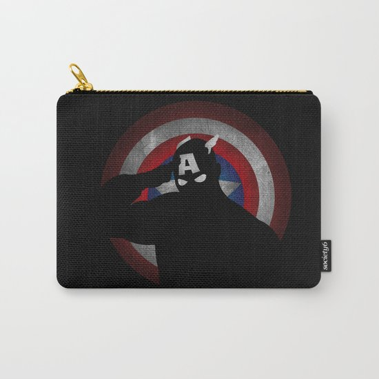 SuperHeroes Shadows : Captain America Carry-All Pouch
