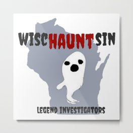 wiscHAUNTsin Metal Print