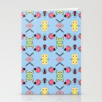 bugs Stationery Cards featuring Bugs by Lena Photo Art