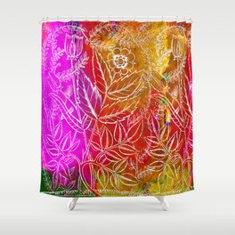 Into the artifice of eternity Shower Curtain