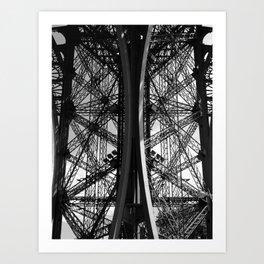 La Tour Eiffel I Art Print