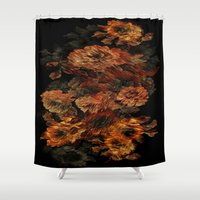 flower pattern Shower Curtains featuring Flower Pattern by Eduardo Doreni
