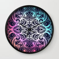 baroque Wall Clocks featuring Baroque by Sproot