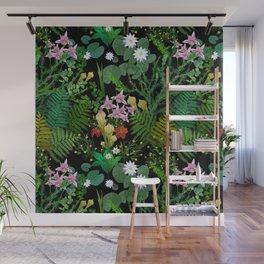 Botanical Bog Wall Mural