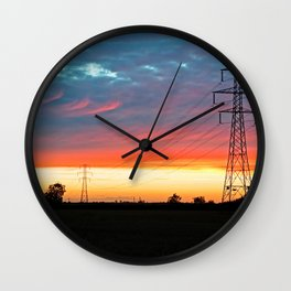 The Warmth Of Lincolnshire Wall Clock