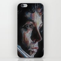 ripley iPhone & iPod Skins featuring Ripley from Aliens by Ashley Anderson