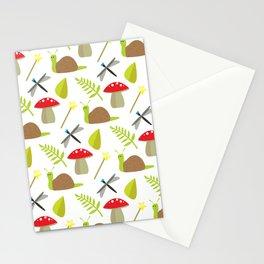 Fairy Garden Pattern 1 Stationery Cards