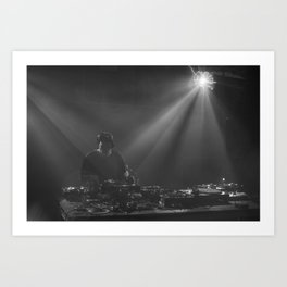 In the mix! Art Print