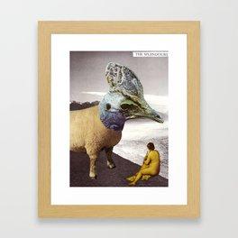 Basilisk by the Lake Framed Art Print