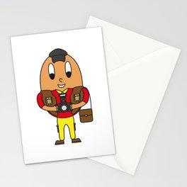 Photographer Egg Stationery Cards
