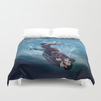 sterek Duvet Covers featuring Underwater by MGNemesi