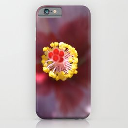 Hibiscus Tropical Flower Getting Lost In The Details iPhone Case