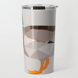 DUCK LOW POLY ART Travel Mug