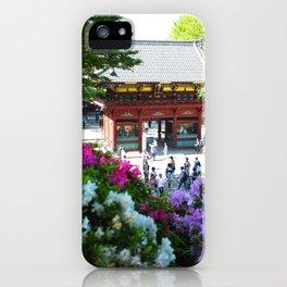Azalea Matsuri iPhone Case