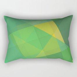 Polygon print bright colors #society6 #decor #buyart #artprint Rectangular Pillow