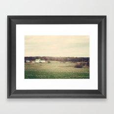 Country Living Framed Art Print