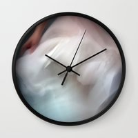 perfume Wall Clocks featuring Perfume by Emily Brand