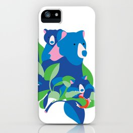 Grizzly spring iPhone Case