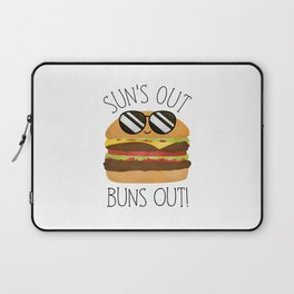 Sun's Out Buns Out! Laptop Sleeve