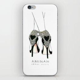 Diemond shoes iPhone Skin