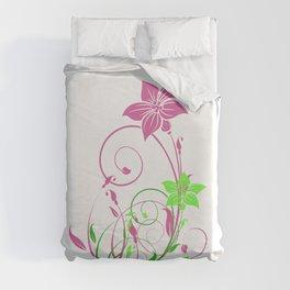 Spring's flowers Duvet Cover