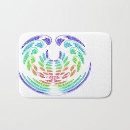 rainbow aggressive Bath Mat