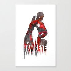 Hawkeye Print Canvas Print