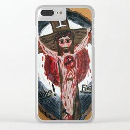 Abba, Fiat! Clear iPhone Case