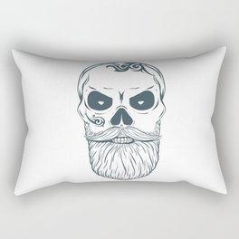 Fear the beard - Halloween Hipster Rectangular Pillow