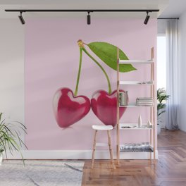 CHERRY LOVE Wall Mural