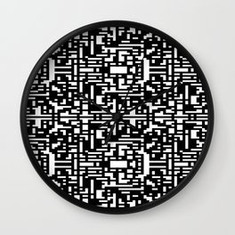 Maze Merge Wall Clock