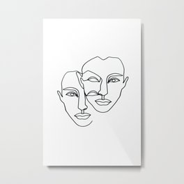 Notion Metal Print