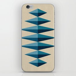 Modern Geometry XV iPhone Skin