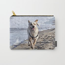 WHITE DOG in SICILY Carry-All Pouch