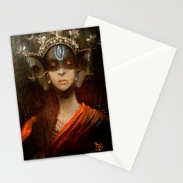 Hecate in a Crown Stationery Cards