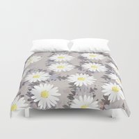 daisies Duvet Covers featuring Daisies by Georgiana Paraschiv