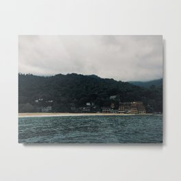 Sleepy Yelapa Metal Print