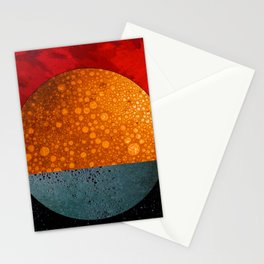 Abstract #202 Stationery Cards