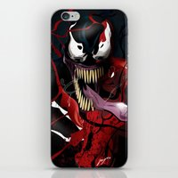 carnage iPhone & iPod Skins featuring Maximum Carnage by JHC Studio