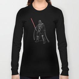 Font vader Long Sleeve T-shirt