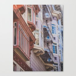 San Fran Condos. Canvas Print