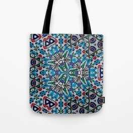 Distorted Pattern Tote Bag