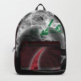 Biohazard Iraq, Biohazard from Iraq, Iraq Quarantine Backpack