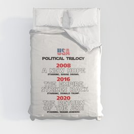 USA Presidential trilogy Comforters