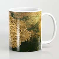 celtic Mugs featuring Celtic Gold by Lynn Bolt