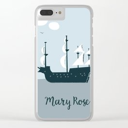 Mary Rose Cartoon Clear iPhone Case