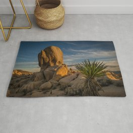 Joshua Tree Rock Formation Rug